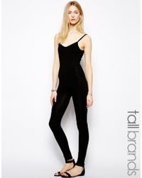 Taller Than Your Average - Ttya Jersey Catsuit - Lyst
