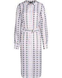 Theory 3/4 Length Dress - Lyst