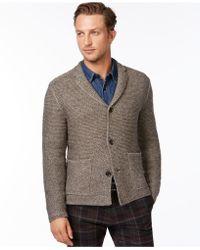 Calvin Klein | Novelty Chunky Knit Blazer | Lyst