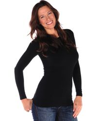 Tees by Tina Long Sleeve Crew Neck - Lyst