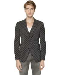 Dolce & Gabbana Martini Stretch Wool Vest & Jacket - Lyst