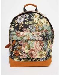 Mi-Pac | Mi Pac Backpack In Tapestry Print | Lyst
