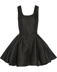 Maje Gulliver Wafer Mesh Mini Dress - Lyst