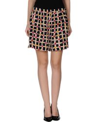 Sonia by Sonia Rykiel Shorts multicolor - Lyst