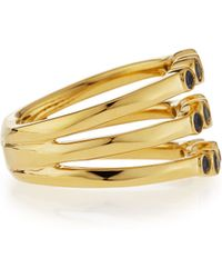 Ippolita - 18k Glamazon Stardust Bezel-set Triple Sapphire Ring - Lyst