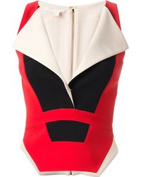Antonio Berardi Fitted Vest - Lyst
