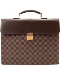 Louis Vuitton Damier Ebene Altona Handbag - Lyst