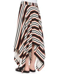 Sass & Bide - Ride To Me Striped Handkerchief Skirt - Lyst