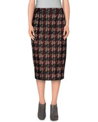Gucci | 3/4 Length Skirt | Lyst