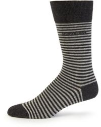Boss by Hugo Boss Brian Striped Socks gray - Lyst