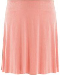 American Vintage Joliette Skirt pink - Lyst