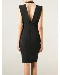 Violante Nessi - Draped Front Dress - Lyst