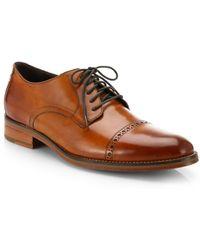 Cole Haan Preston Cap-Toe Lace-Up Shoes - Lyst