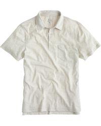 J.Crew Broken-In Pocket Polo Shirt - Lyst