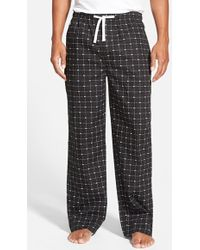 Lacoste - Cotton Lounge Pants - Lyst