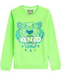 Kenzo Logo Statement Sweatshirt - Lyst
