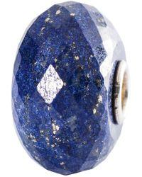 Trollbeads - Sterling Silver Lapis Lazuli Bead - Lyst