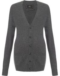By Malene Birger Oversized Cashmere Cardigan - Lyst