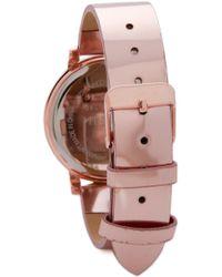 Shashi - Gleam Watch - Rose Gold - Lyst
