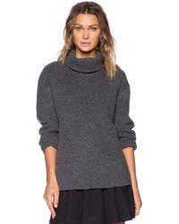 Theory Mezia Turtleneck Sweater - Lyst