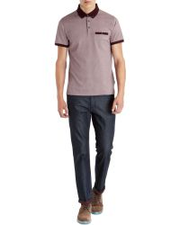 Ted Baker Wooksee All Over Printed Polo - Lyst