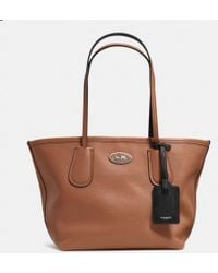 Coach Taxi Tote 24 in Leather - Lyst