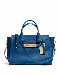 Coach Swagger Satchel - Lyst