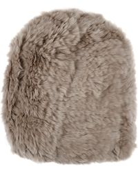 Barneys New York | Fur Beanie | Lyst