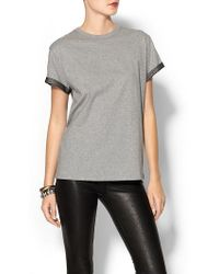 RED Valentino Cotton Jersey Tshirt - Lyst