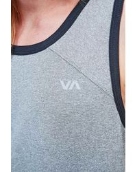 RVCA - Virus Tech Tank In Black - Lyst