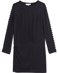 Iro Abbie Black Dress - Lyst