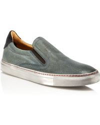 Robert Graham - Rolo Slip On Trainers - Lyst