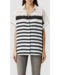 AllSaints Pome Cleo Shirt - Lyst