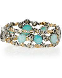 Alexis Bittar - Elements Mixed-stone Hinge Bracelet - Lyst