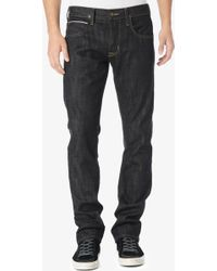 Hudson Byron Selvage Straight blue - Lyst