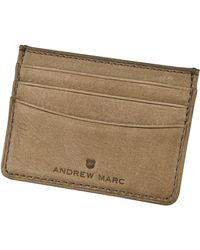 Andrew Marc - Clarkson Card Case Id - Lyst