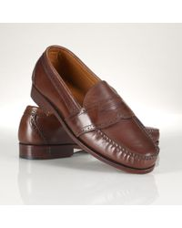 Polo Ralph Lauren Leather Ellesmere Penny Loafer - Lyst
