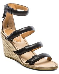 Marc By Marc Jacobs 85 Mm Sandal Espadrille Wedge - Lyst