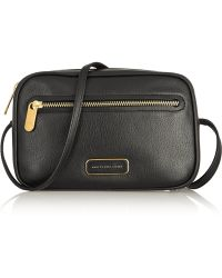Marc By Marc Jacobs - Sally Textured-Leather Shoulder Bag - Lyst