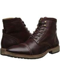 Florsheim Indie Cap Toe Boot brown - Lyst