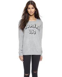 Zoe Karssen Numero Uno Sweater  - Lyst