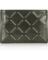 Alexander Wang Patent-leather Cardholder - Lyst