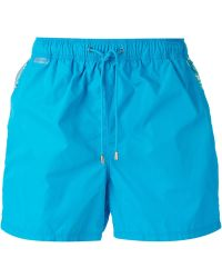 Etro Printed Pocket Swim Shorts - Lyst