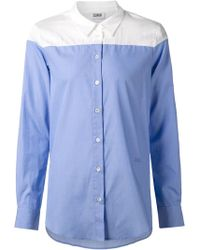 Sonia by Sonia Rykiel Panelled Shirt - Lyst