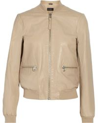 Mackage Skye Leather Biker Jacket - Lyst