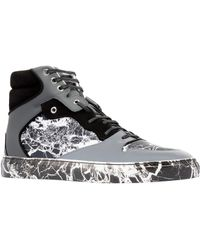 Balenciaga Marble High Sneakers - Lyst
