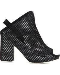 Balenciaga Box Mesh Sandals black - Lyst