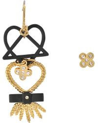 Marc By Marc Jacobs - Lost & Found Harvest Heart Earrings - Lyst