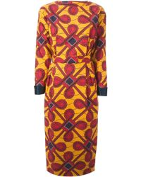 Stella Jean M Print Dress - Lyst