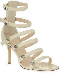 Christopher Kane Multistrap Sandals - Lyst